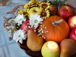 pictures of fall wedding centerpieces
