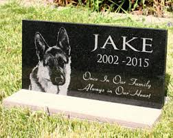 dog memorial pet grave markers etsy