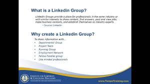 linkedin ca how to create a linkedin group youtube