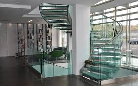 Helical Staircase Design Glass Grand Design Stairs