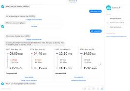 you can plan your next vacation with skyscanner facebook messenger