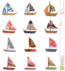 cartoon sailboat icon royalty free stock photography image 17801437