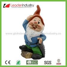 Gnome Garden Decor China Large Polyresin Gnome Garden Statue For Outdoor Decor On