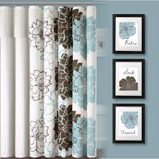 funky bathroom ideas bathroom ideas blue and brown floral print bathroom curtain