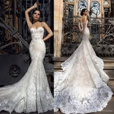 mermaid wedding dresses 2018 mermaid wedding dresses sweetheart fitted lace appliques robe