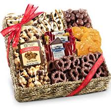 chocolate gift basket chocolate nuts and crunch gift basket gourmet