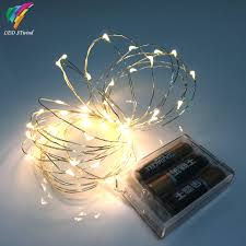 battery operated mini led lights 9 color 5m 50leds fairy string lights l battery operated mini led