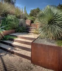 landscape design austin landscape southwestern with gravel cor ten