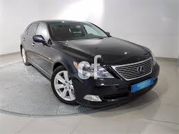 used 2013 lexus ls 600h used lexus ls cars spain