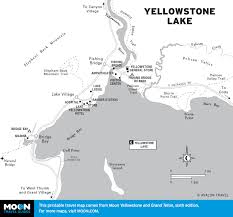 Yellowstone Map Usa by Printable Travel Maps Of Wyoming Moon Travel Guides