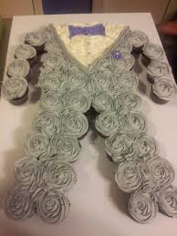 Groom Pull Apart Cupcake Cake Things I U0027ve Baked Pinterest