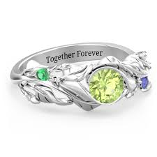 personalized jewelry mothers rings infinity rings birthstone