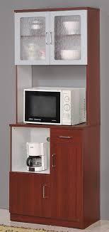 kitchen pantry storage cabinet microwave oven stand with storage kitchen microwave stand with glass door cherry