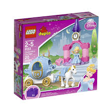 amazon com lego duplo disney princess cinderella u0027s carriage 6153