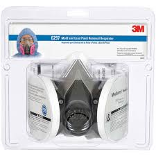 3m protection mold and lead particle respirator medium walmart com