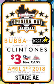 case of coors light light opening day tailgate stage ae pittsburgh 2 april