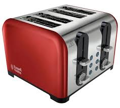 Morphy Richards Accent Toaster Red Buy Russell Hobbs 22402 Westminster 4 Slice Toaster Red At Argos