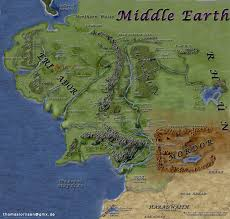 a map of middle earth middleearth jpg