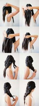 hair braiding styles step by step 41 diy cool easy hairstyles that real people can actually do at