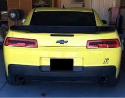 camaro light covers 2014 2015 chevy camaro rs signal taillight pre cut tint
