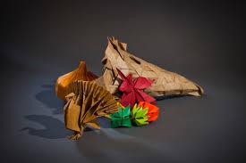 photos an origami t thanksgiving mit news