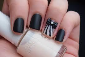 black and cream nail art images nail art designs