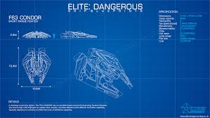 Blue Print Size by Image F63 Condor Fighter Blueprint Png Elite Dangerous Wiki