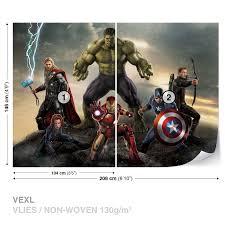 wall mural photo wallpaper xxl marvel avengers battle 3361ws ebay wall mural photo wallpaper xxl marvel avengers battle