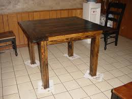 Diy Kitchen Table Ideas by Kitchen Table Generate Square Kitchen Tables 9 Pc Square