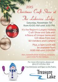 region u0027s largest christmas craft show set for saturday at treasure