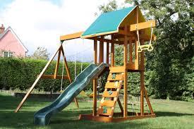 big backyard wooden swing set u0026 reviews wayfair