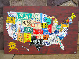 License Plate Map The World U0027s Best Photos By Designturnpike Flickr Hive Mind