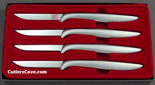 gerber kitchen knives miming chrome in a set of four that is mint in the box