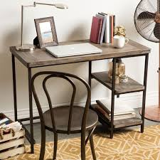 Computer Writing Desk Renate Distressed Grey Slim Writing Desk Free Shipping Today