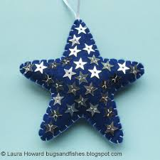 bugs and fishes by lupin all 8 free felt ornament tutorials
