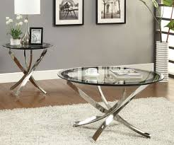 Glass Side Tables For Living Room Round Table Ler Lane