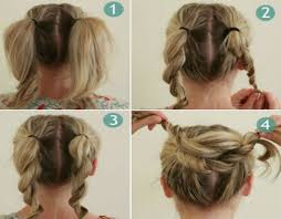 hair juda download bun hairstyles for your wedding day with detailed steps and pictures