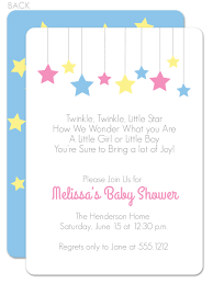 twinkle twinkle little star baby shower invitations theruntime com