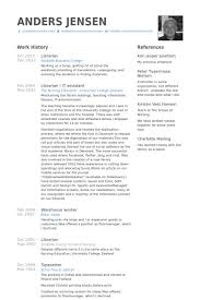 Examples Of References For Resume by Librarian Resume Samples Visualcv Resume Samples Database
