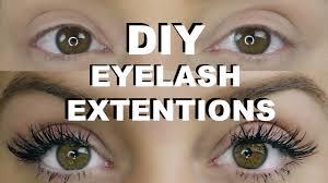 diy permanent eyelash extensions katie ballard youtube