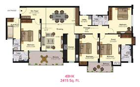 Garden Apartment Floor Plans Rangoli Gardens Jaipur 2 3 4 Bhk Flats Dhamu And Co