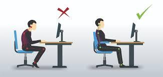 bonne position au bureau comment adopter une bonne position assise devant ordinateur