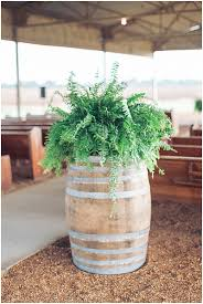 Fern Decor by White And Blue Wedding With Darling Details The Budget Savvy Bride
