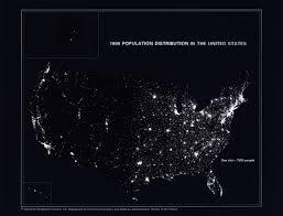 Population Density Map Us Population Distribution Over Time History U S Census Bureau
