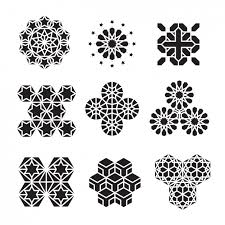 abstract ornaments collection vector free