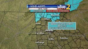 Crime Map Atlanta by Rain Storms Expected In Metro Atlanta Tonight Wsb Tv