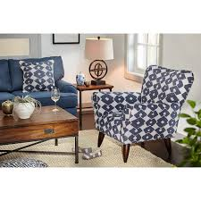 Blue Accent Chair Accent Chair Blue Value City Furniture And Mattresses