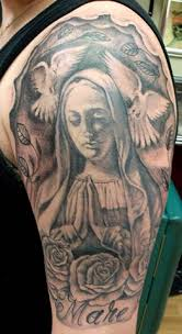 collection of 25 half sleeve religious for
