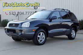2004 hyundai suv 2004 hyundai santa fe gls jackson mo auto credit mo