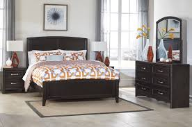 Cool Bedroom Furniture by Bedroom North Shore Ashley Furniture Sleigh Bed In Brown For Chic